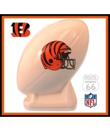 CINCINNATI BENGALS FOOTBALL CERAMIC OLD BANK RARE MINT - $21.18