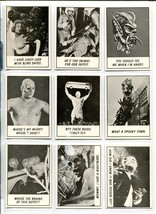 MONSTER LAFFS CARD SET -1966-FILL SET 1THRU 66-TOPPS-HORROR FILMS-JOKES-nm - $640.20