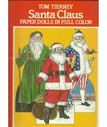 Santa Claus Paper Dolls Full Color St Nicholas 4 Dolls 18 Costumes Tiern... - $7.93