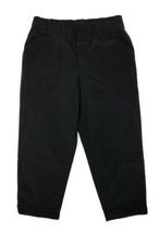 Talbots Women Size S (Meas 30x24) Black Polyester Track Pants Rolled Hem... - $17.10