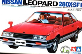 Model Car Nissan 1980 - Leopard 280X-SF-L  2 Door Hardtop Model Car kit - $11.95