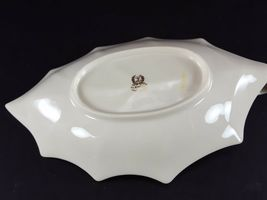 "LENOX China Holiday Dimension 10-1/8"" Leaf Dish Handled Dinnerware image 5"