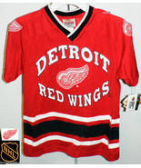 DETROIT RED WINGS FREE SHIPPING HOCKEY JERSEY NHL YOUTH BOYS NEW SMALL - $24.52