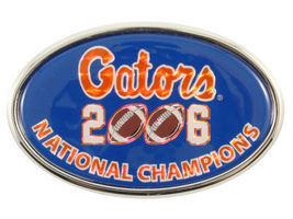 Florida Gators Football 2006 Ncaa Champions Car Auto Emblem Rare - $15.19