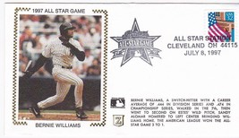 BERNIE WILLIAMS 1997 ALL STAR GAME NEW YORK YANKEES CLEVELAND OH 7/8/97 ... - $1.98