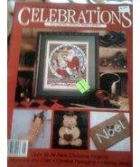Celebration to Cross Stitch and Craft Leisure Arts Pamphlet Vol 1, No 1 ... - $3.96
