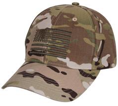 Low Profile MultiCam Camo Military Tactical Operator US Flag Baseball Ha... - $12.86