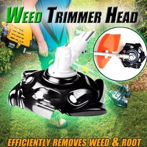 Weed Trimmer Head Lawn Mower Sharpener Weed Trimmer Head for Power Lawn ... - $17.70