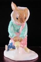 "Royal Doulton Bunnykins Figurine - ""Girl Skater"" - DB153 - $20.42"
