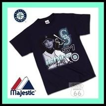 Ichiro Suzuki 51 Seattle Mariners Shirt New Majestic 2 X - $16.76