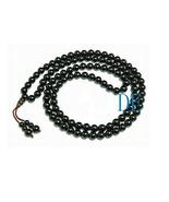 "33"" Tibetan Natural Black Onyx Prayer Beads Mala - $19.99"