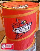 IOWA STATE CYCLONES NCAA SPORTS BASKETBALL FOOTBALL LAUNDRY HAMPER BAG NEW - $25.52