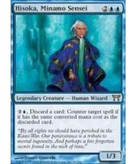 Magic: the Gathering - Hisoka, Minamo Sensei - Champions of Kamigawa - $0.01