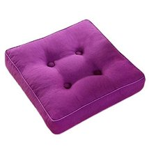George Jimmy Square Thicken Cushion Tatami Floor Cushion Office Home Pil... - $19.38
