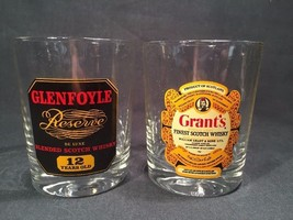 Pair Of Whisky Tumblers Glenfoyle/Grants (ref W951) - $13.09