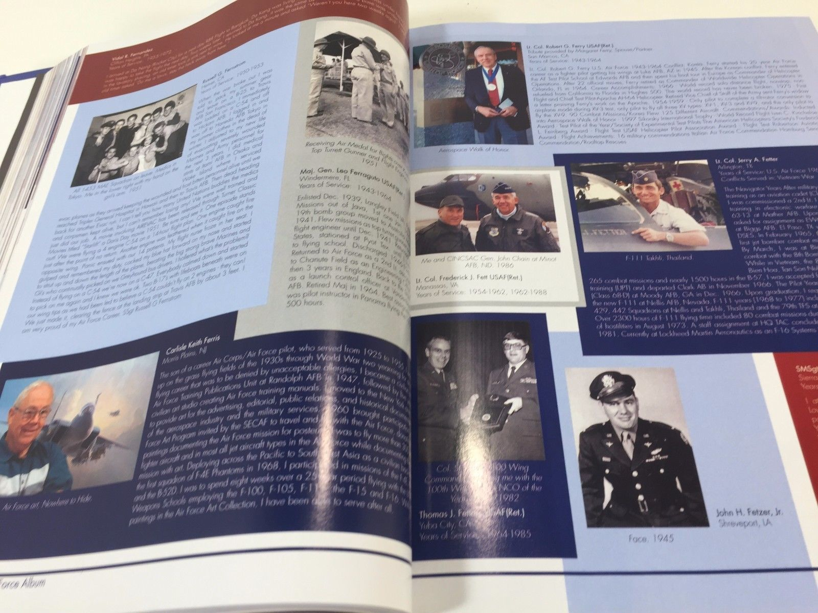 The Air Force Album: Who We Served - Hardcover 2009 Illustrated