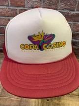 Copa Casinò Gulfport Mississippi Burgundy Snapback Adulto Cappello - $20.84