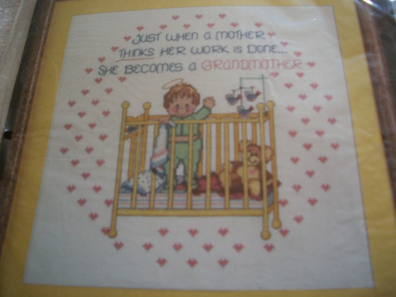 Primary image for Grandma Counted Cross Stitch Chart