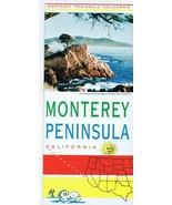 ORIGINAL Vintage 1960s Monterey Peninsula California Tourism Brochure - $12.19