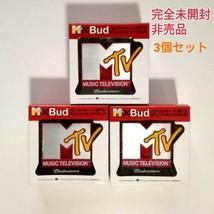 Not for sale Budweiser MTV mini FM radio 3 piece set - $114.27