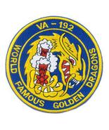 US Navy VA-192 Attack Squadron Patch Military Insignia Golden Dragons Patch - $9.99