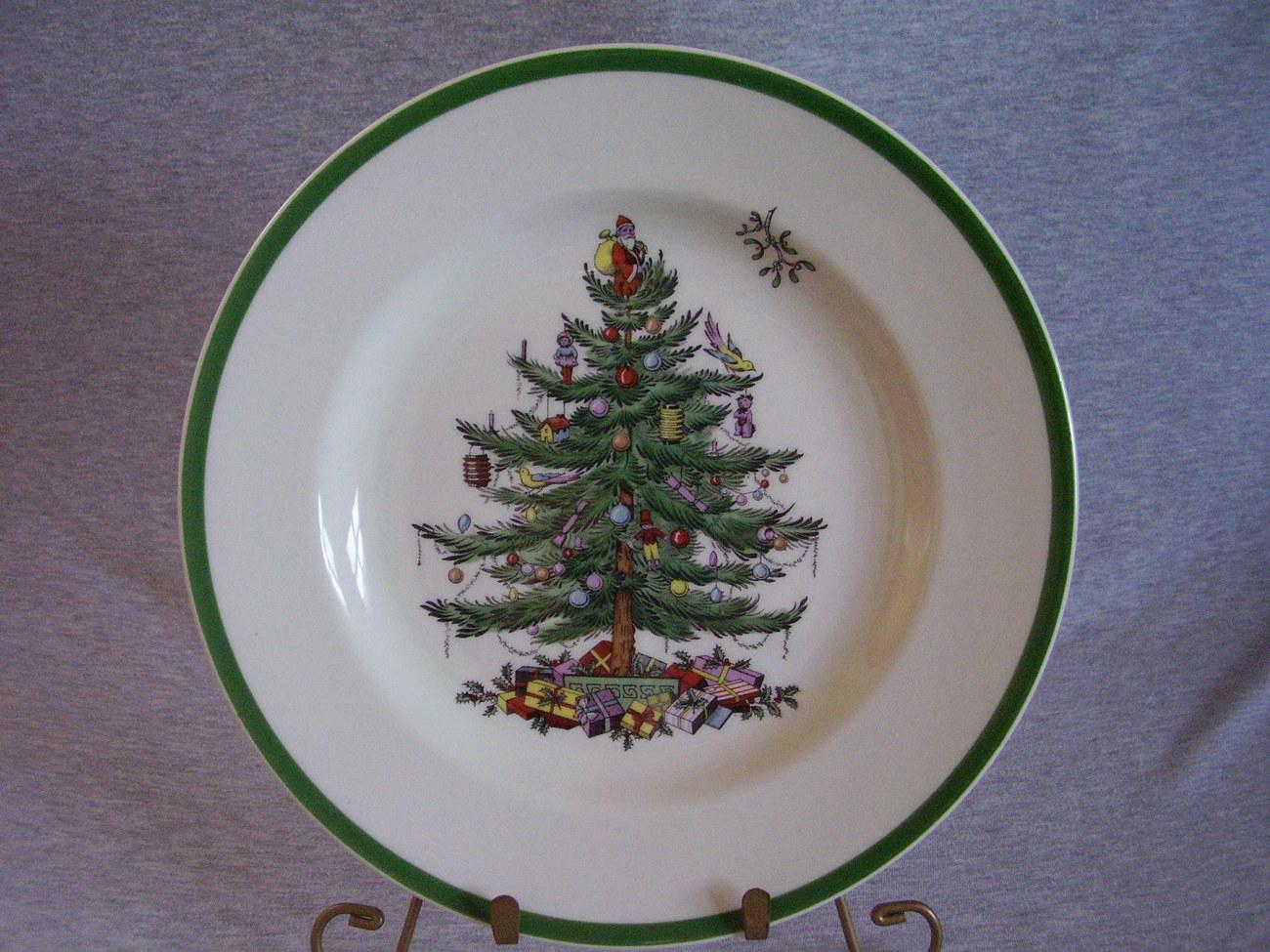 Spode China Christmas Tree Dinner Plate