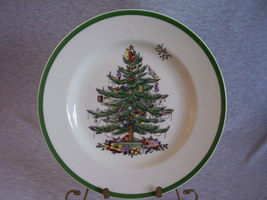 Spode China Christmas Tree Dinner Plate image 1