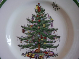 Spode China Christmas Tree Dinner Plate image 2