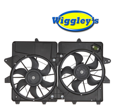 DUAL COOLING FAN FO3115185 FOR 05 06 07 08 09 10 11 12 ESCAPE MARINER HYBRID image 1
