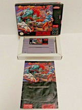 Street Fighter II Super Nintendo Entertainment System Game Box Booklet - $65.44