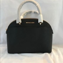 7f03b58f1b3d03 Michael Kors Emmy Large Cindy Dome Satchel Crossbody Leather - $112.05+