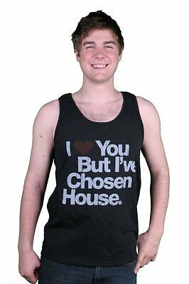 I Love You But I'Ve Chosen House Musik Schwarz Tank Top