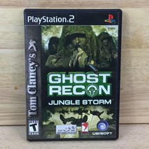 Tom Clancy's GHOST RECON PS2  Playstation 2 Vintage Video Game Disk W Case - $18.99