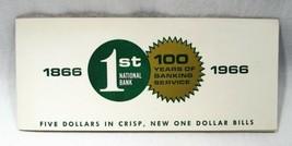 1963A $1 Federal Reserve 5 Consecutive Original Bank Sleeve PC-596 - $24.12