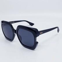 Dior GAIA 807IR Women's Black/Grey Oversized Sunglasses NEW AUTHENTIC  - $177.61