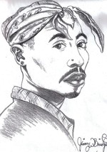 Original Prints Of Tupac  - $27.50