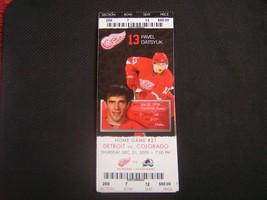 NHL 2009-10 Detroit Red Wings Ticket Stub Vs. Colorado 12-31-09 - $2.96