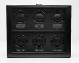 WOLF Heritage 6 Piece Watch Winder Box with Cover Six 270702 Free US Shipping - $1,299.00