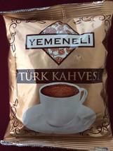Elite Ground Black Turkish Coffee Yemeneli Turkey Tasty 100gr Aroma Dark Mud - $7.91