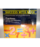 "1983 Atari 800/1200XL ""Success With Math Fractions""  ***NEW*** - $38.00"