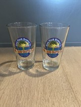 Pair of Green Flash BREWING COMPANY Pint Glasses San Diego CA Brewery Cr... - $18.00