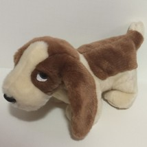 "TY Beanie Buddy Tracker Basset Hound Plush Stuffed Animal Soft 14"" long ... - $9.75"