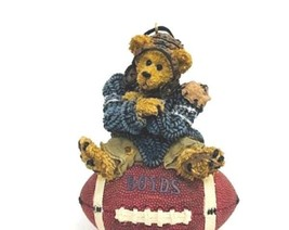 """Boyds Bearstone Ornament """"Knute..Half Time"""" #25705 -New- 1995- Retired - $16.99"""