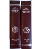 National Geographic Magazine - 1 year set 1987 - In Binders - $28.00