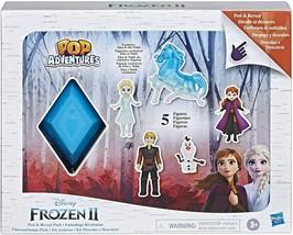 New Hasbro Frozen 2 Peel and Reveal Playset, Anna, Elsa, Olaf, Kristoff,... - $15.99