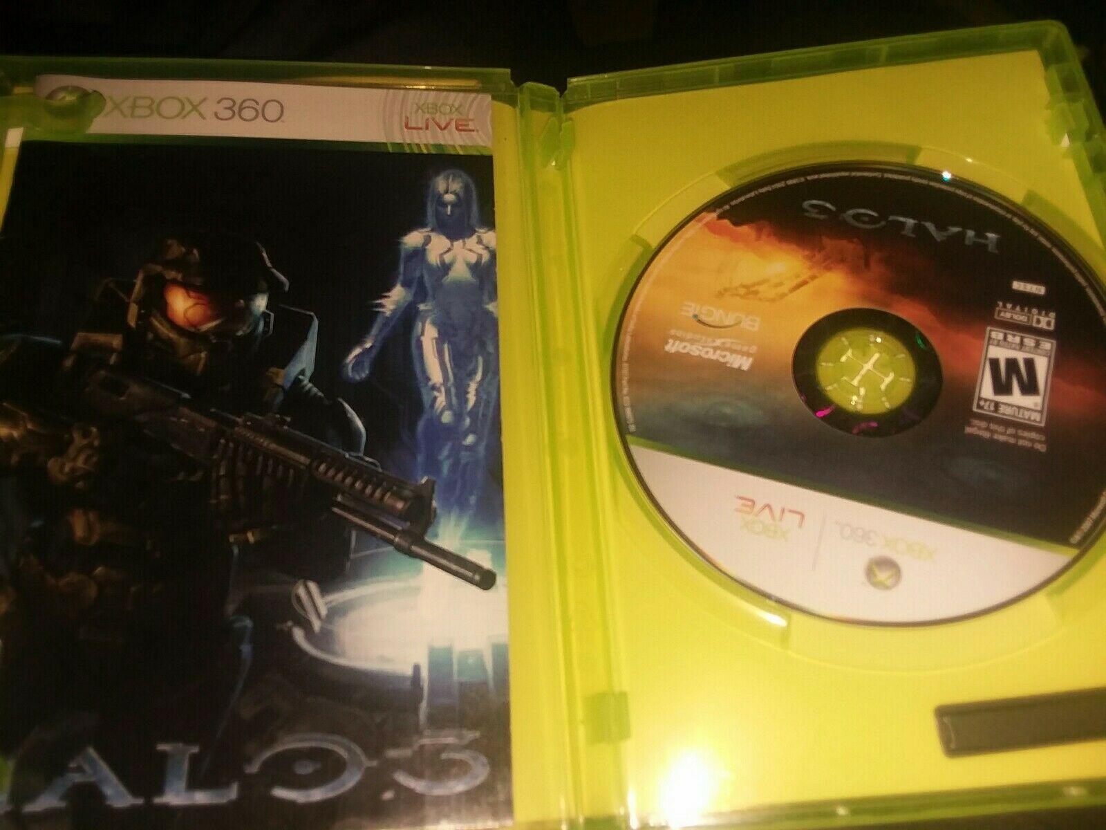 Halo 3 (Microsoft Xbox 360, 2007) cib complete