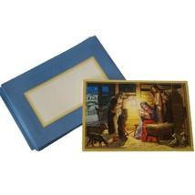 Lot of 9 VTG Hallmark Christmas Cards by Geoff Greenleaf  XPX 2281 Holy ... - $10.93