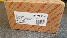 Weidmuller CP-SNT 55W, 3Ph, 380-480VAC, 24VDC, 9917790324 Power Supply - $200.00