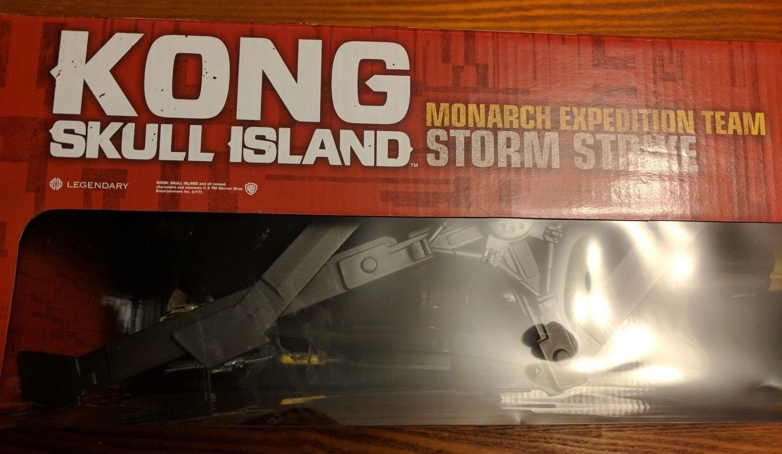 """King Kong Skull Island Helicopter Storm Strike Lanard 3.75"""" Fig Walmart Exclusv"""