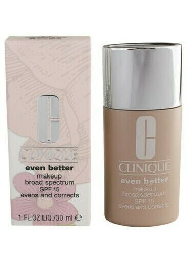 Primary image for Clinique Even Better Makeup Broad Spectrum Spf15 Evens & Correct Foundation, 1oz
